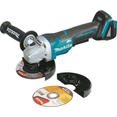 18-Volt LXT Lithium-Ion Brushless Cordless 4-1/2 in. Paddle Switch Cut-Off/Angle Grinder (Tool Only)