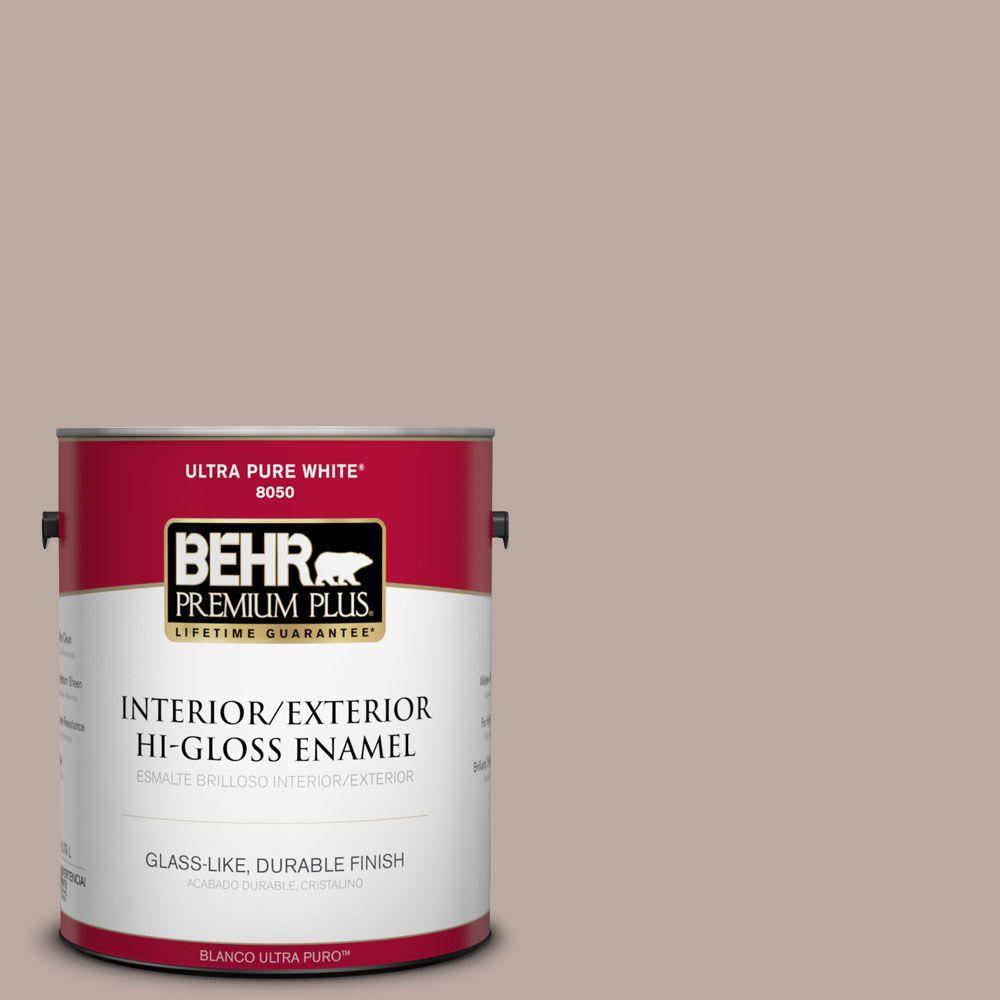 BEHR Premium Plus 1-gal. #770B-4 Classic Hi-Gloss Enamel Interior/Exterior Paint