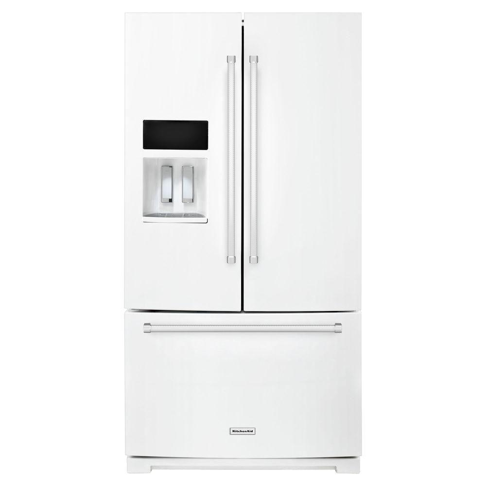KitchenAid 36 In. W 26.8 Cu. Ft. French Door Refrigerator