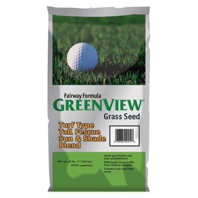 25 lb. Fairway Formula Turf Type Tall Fescue Grass Seed Sun and Shade Blend