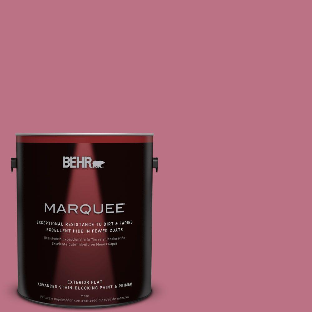 BEHR MARQUEE 1-gal. #MQ1-8 Smell the Roses Flat Exterior Paint