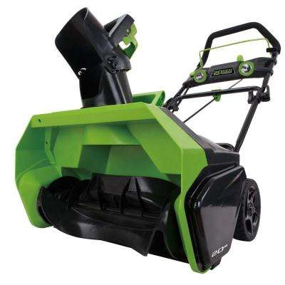 Digi-Pro GMAX 20 in. 40-Volt Cordless Electric Snow Blower - Battery and Charger Not Included