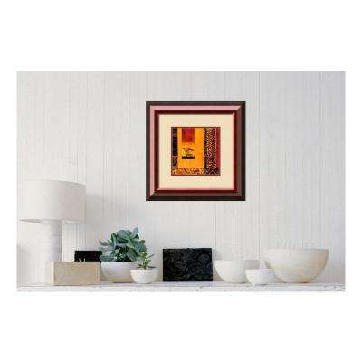 """21 in. H x 21 in. W """"African Studies I"""" by """" Chris Donovan"""" Framed Print Wall Art"""