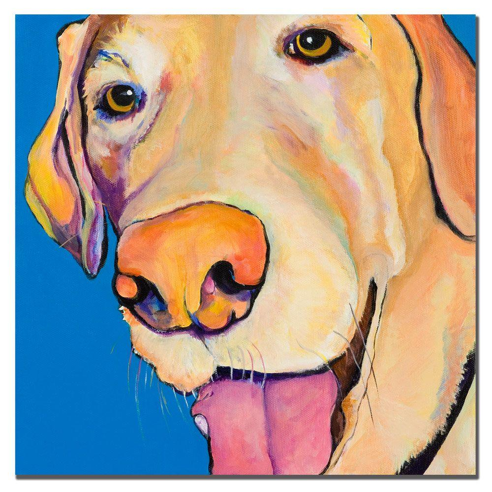 Trademark Fine Art 18 in. x 18 in. Rex Canvas Art