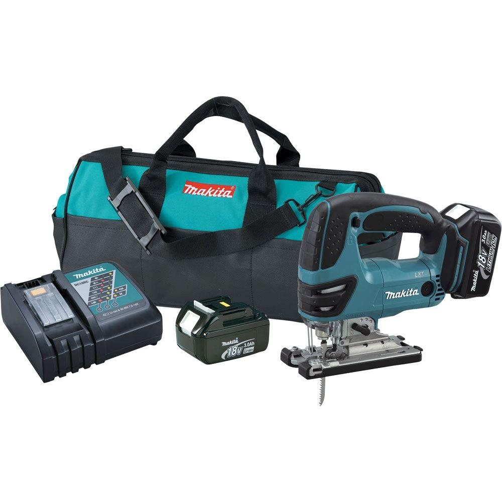 Makita 18-Volt LXT Lithium-Ion Cordless Jig Saw Kit