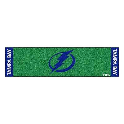 NHL Tampa Bay Lightning 1 ft. 6 in. x 6 ft. Indoor 1-Hole Golf Practice Putting Green