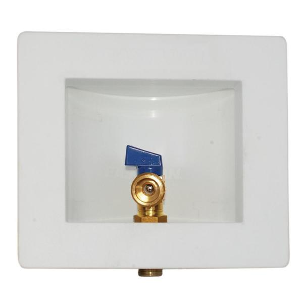 1/2 in. Sweat Plastic Steam Dryer Outlet Box