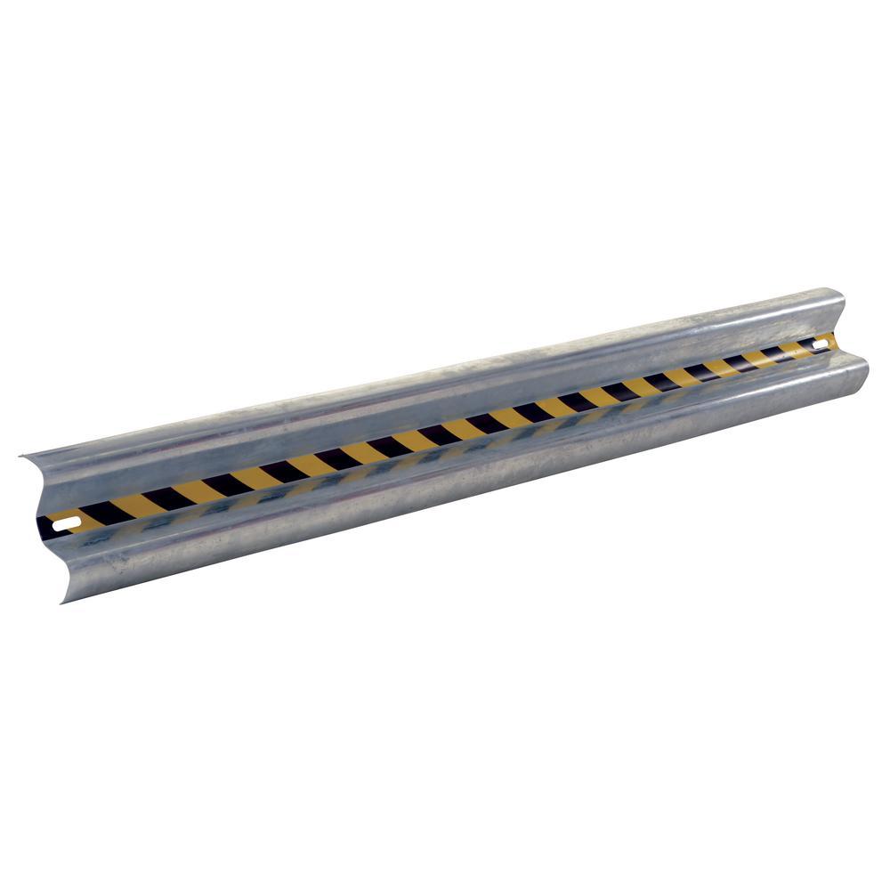Guardrail Straight Rail Galva 84 in.