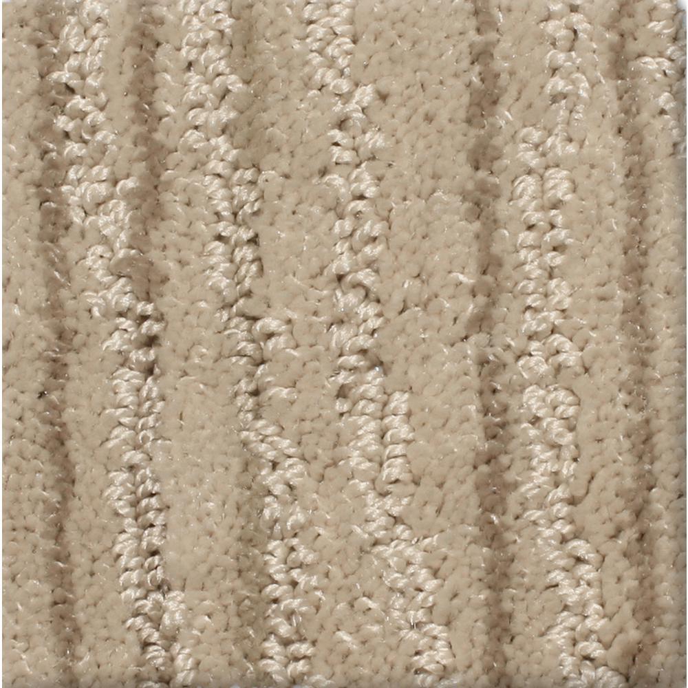 Home Decorators Collection Jump Line II - Color Canter Pattern 12 ft. Carpet