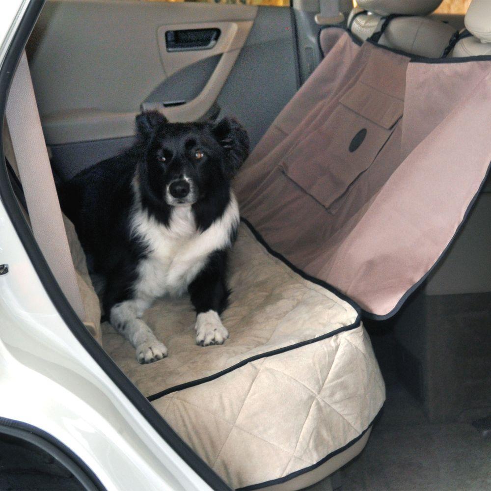 Tan Deluxe Car Seat Saver