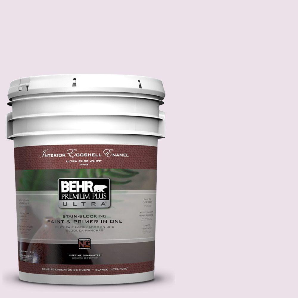 BEHR Premium Plus Ultra 5-gal. #670C-2 Petal Dust Eggshell Enamel Interior Paint