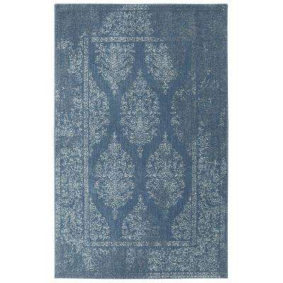 Paxton Blue 8 ft. x 10 ft. Indoor Area Rug