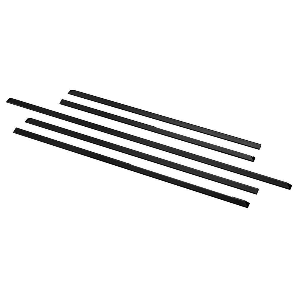 Slide-in Range Filler Kit in Black