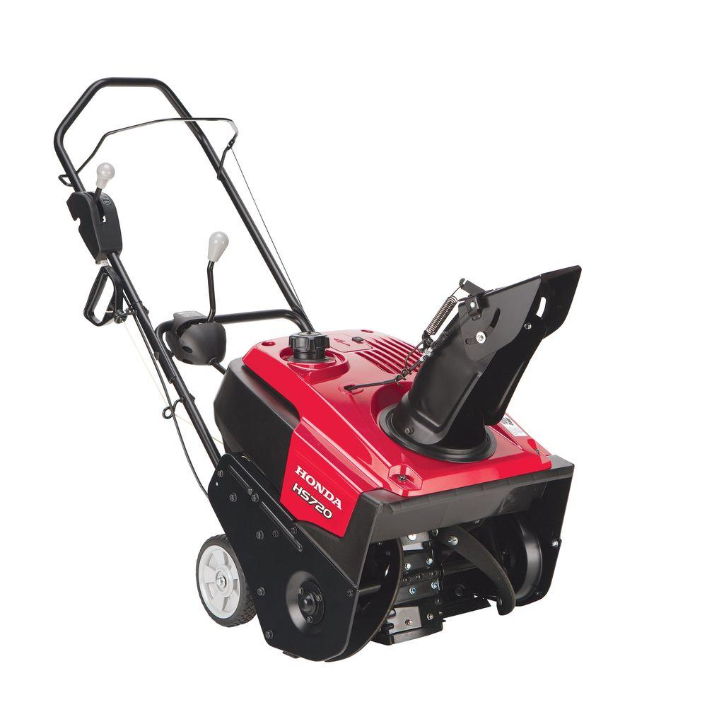 Honda 20 in. Single-Stage Gas Snow Blower with Snow Director Chute Control