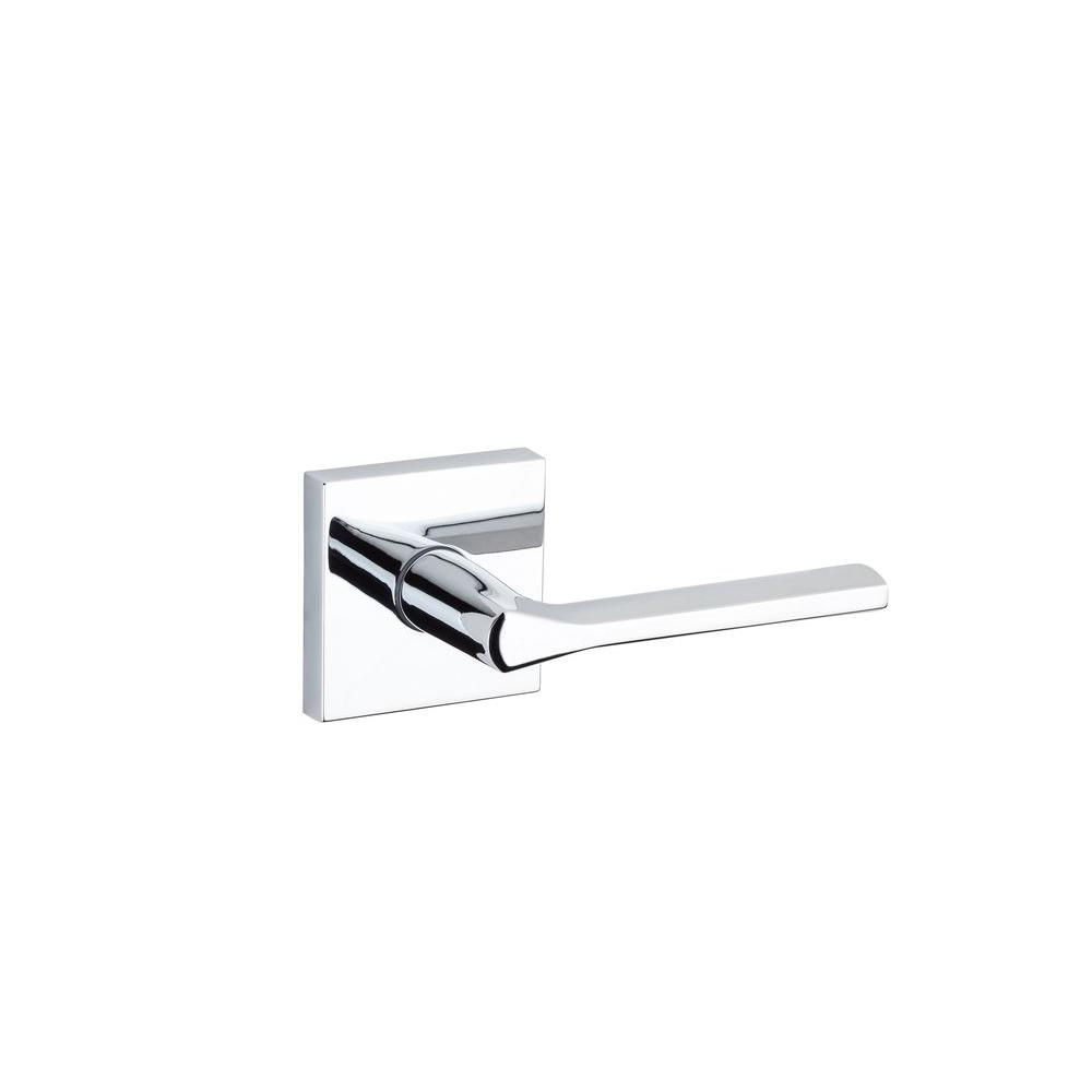 Lisbon Polished Chrome Square Hall/Closet Lever