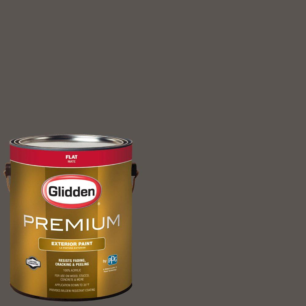 Hdgcn52 Forest Black Flat Latex Exterior Paint