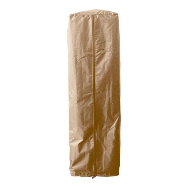 38 in. Heavy Duty Tan Portable Glass Tube Heater Cover