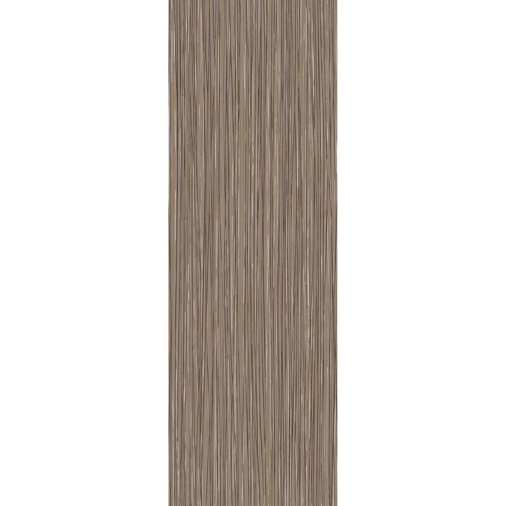 TrafficMASTER Allure Commercial 6 in. x 36 in. Milano Brown Resilient Vinyl Plank Flooring (22.5 sq. ft. / case)