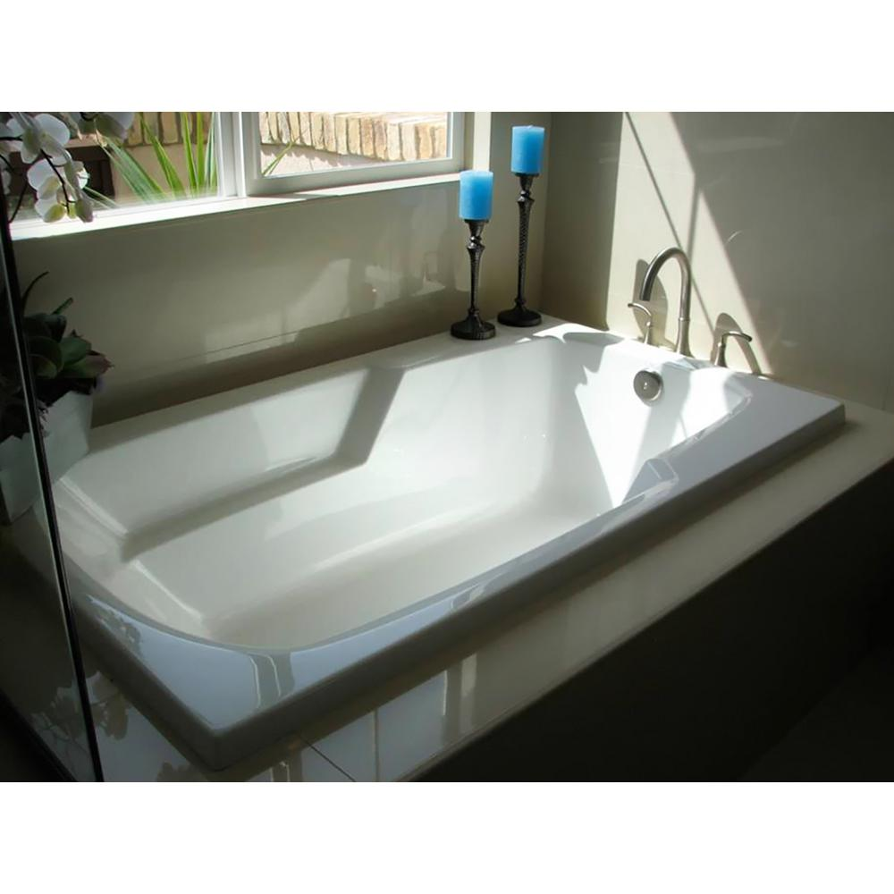 Drop In Jetted Tub.Hydro Systems Napa 54 In Acrylic Rectangular Drop In Reversible Drain Whirlpool Tub In White