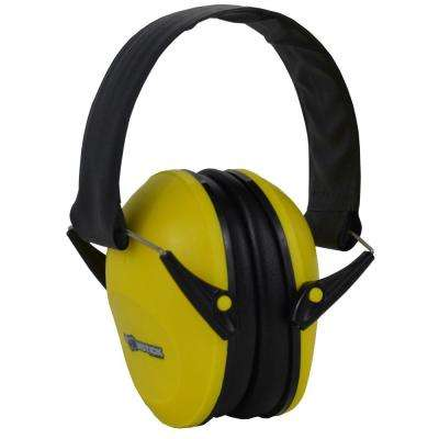 Ear Muff Hearing Protection in Yellow