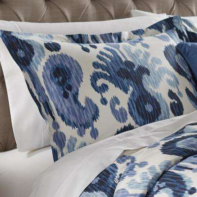 Still Water Indigo Euro Pillow Sham