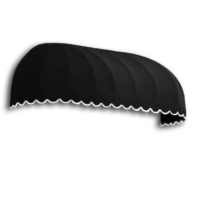 4 ft. Chicago Window Awning (31 in. H x 24 in. D) in Black