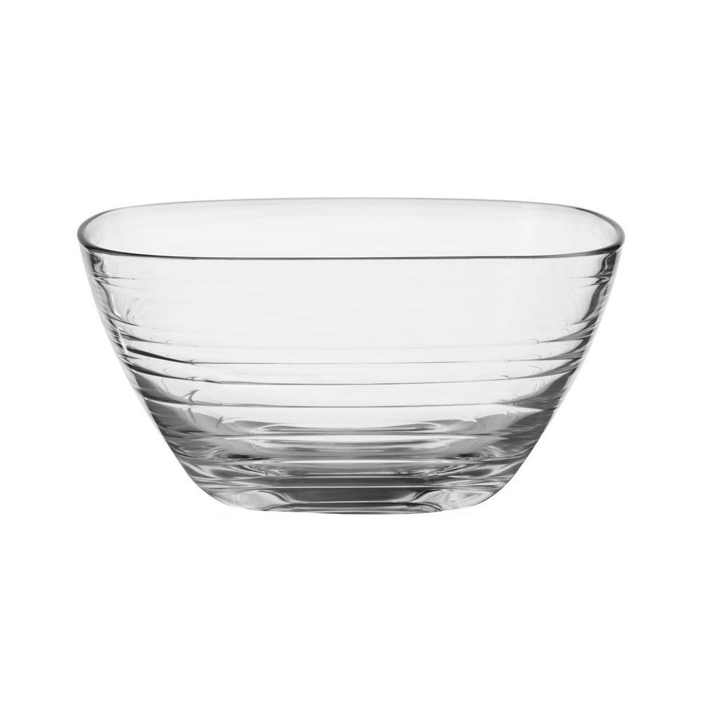 Libbey Aviva Waves 9.5 oz. 1-Piece Clear Serve Bowl 56965