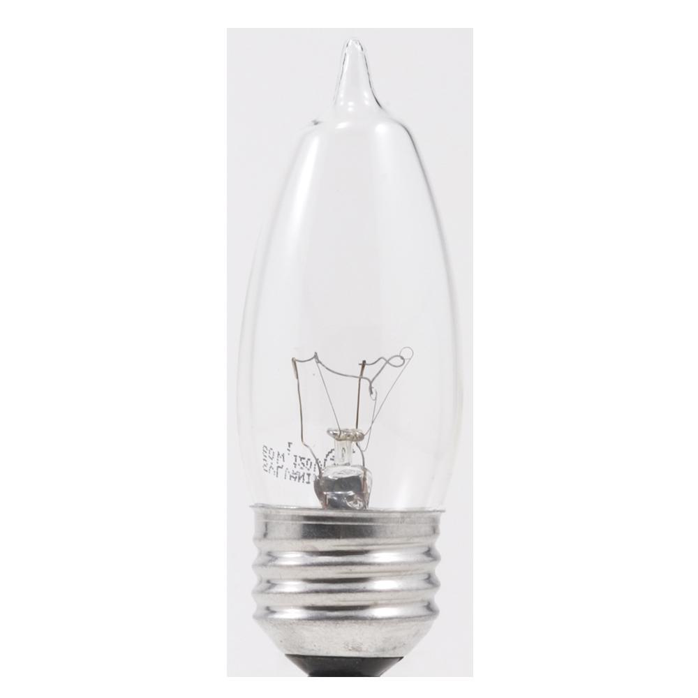 60-Watt Double Life B10 Incandescent Light Bulb (2-Pack)