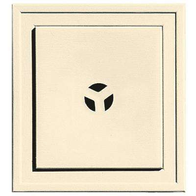 7.9375 in. x 7.9375 in. #020 Heritage Cream Slim Line Universal Mounting Block