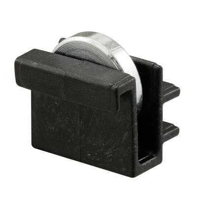 Pack of 2 Prime-Line Products G 3122 Sliding Window Roller Assembly with 3//8-Inch Flat Brass Wheel,