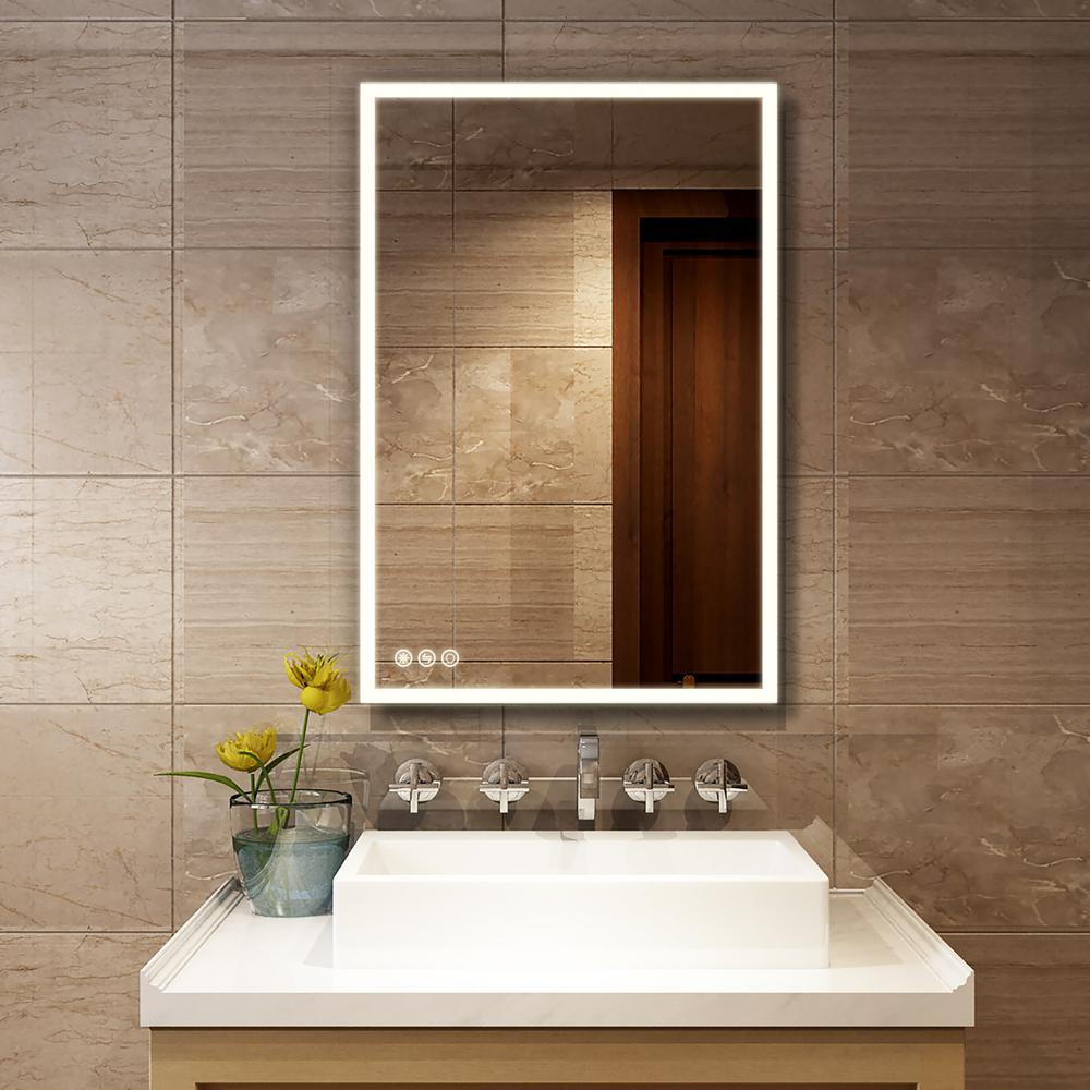 Mirror Cabinet Mirror LED Mirror Bathroom Mirror Bathroom Mirror Homeline 90 cm