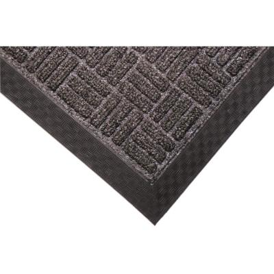 Crossbar Charcoal 36 in. x 60 in. Commercial Entrance Mat
