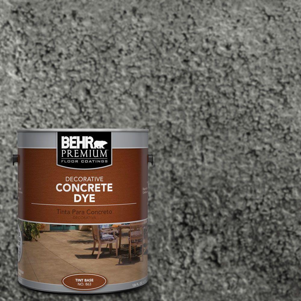 BEHR Premium 1 gal. #CD-829 Dark Harbor Concrete Dye