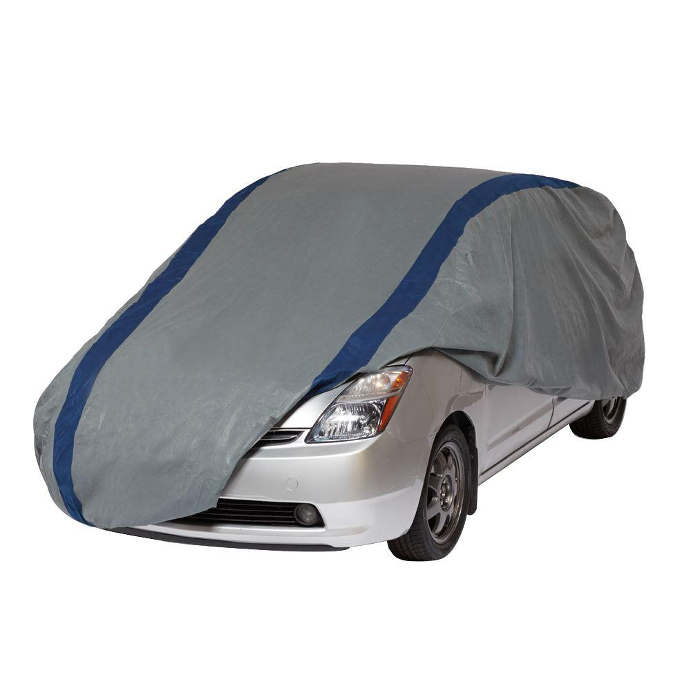 Duck Covers Weather Defender Hatchback Semi Custom Car Cover Fits Up To 13 Ft 5 In A3hb161 The Home Depot