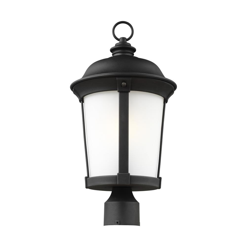 Seagulllighting: Sea Gull Lighting Calder 1-Light Outdoor Black Post Light