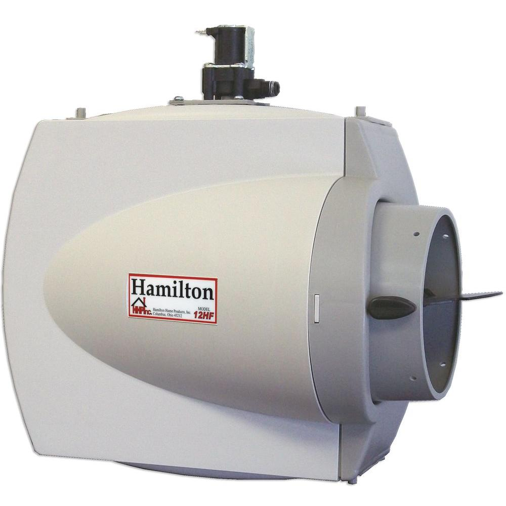 Hamilton Whole House Furnace Mount Flow Through Humidifier-12HF ...