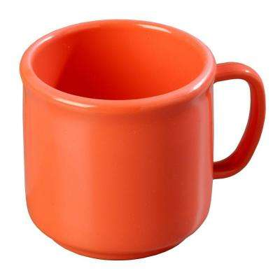 10 oz. SAN Plastic Mug in Sunset Orange (Case of 12)
