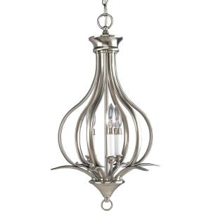 Trinity 3-Light Brushed Nickel Pendant