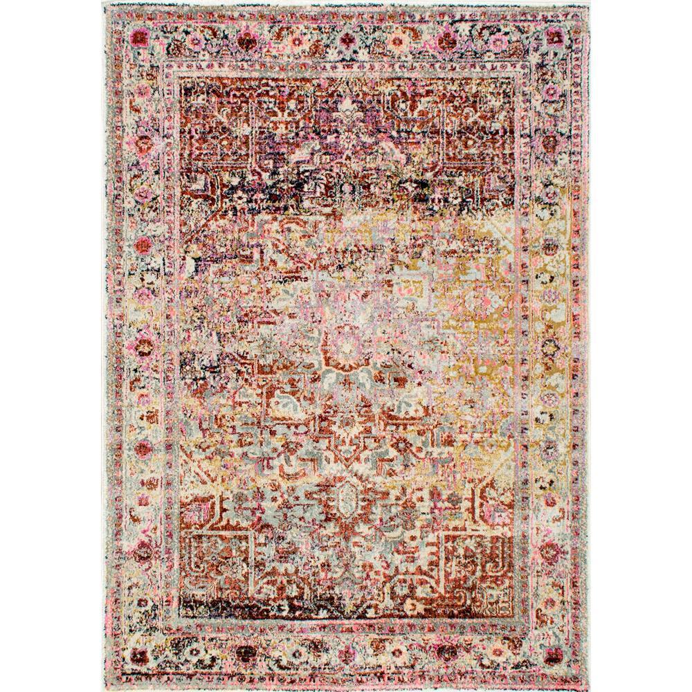 nuloom vintage farrah light pink 8 ft x 10 ft area rug rzdn05a 8010 the home depot. Black Bedroom Furniture Sets. Home Design Ideas