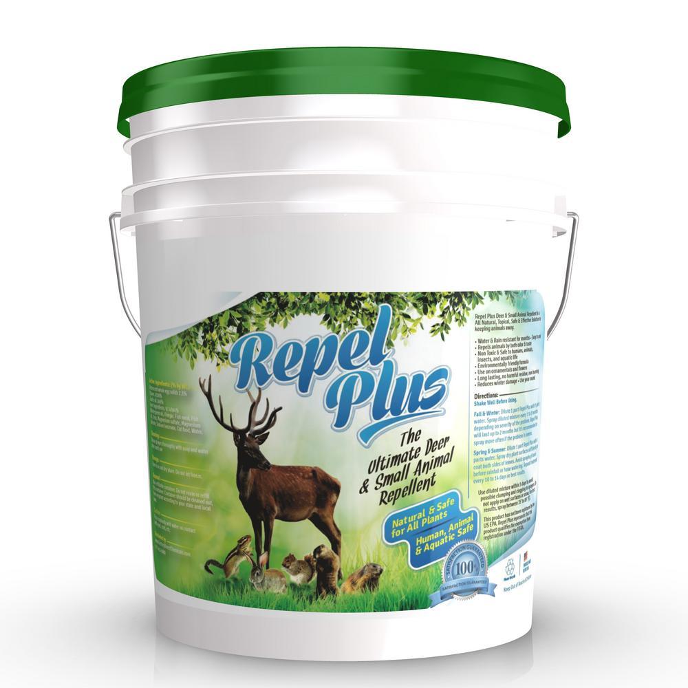5 Gal. Pail Repel Plus Deer and Small Animal Repellent