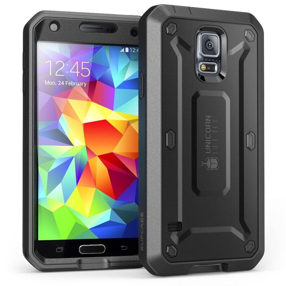 SUPCASE Galaxy S5 Unicorn Beetle Pro Full Body Case with Screen
