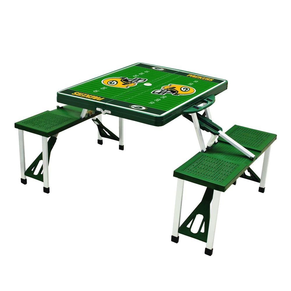 Green Bay Packers Sport Patio Picnic Table