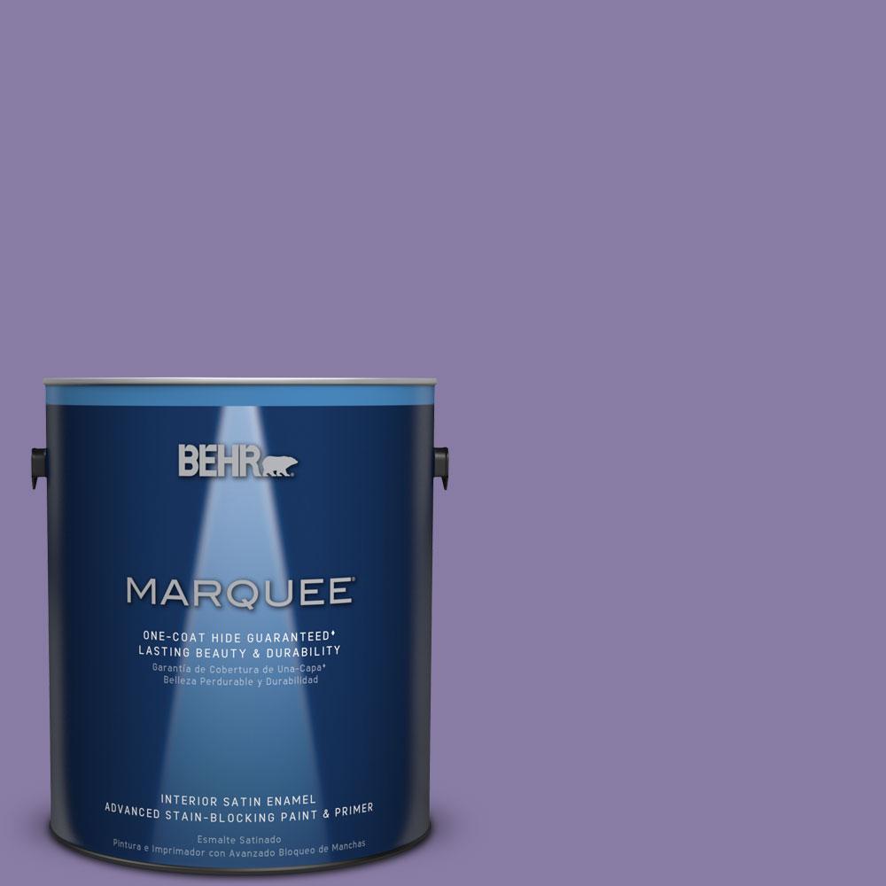 1 gal. #M560-5 Second Pour One-Coat Hide Satin Enamel Interior Paint