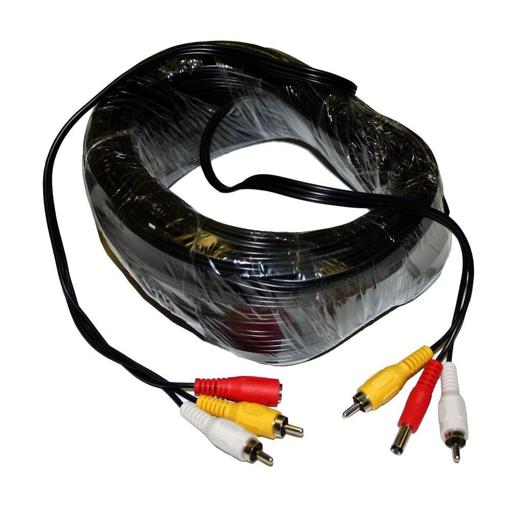 SeqCam 100 ft. RCA Audio Video Cable