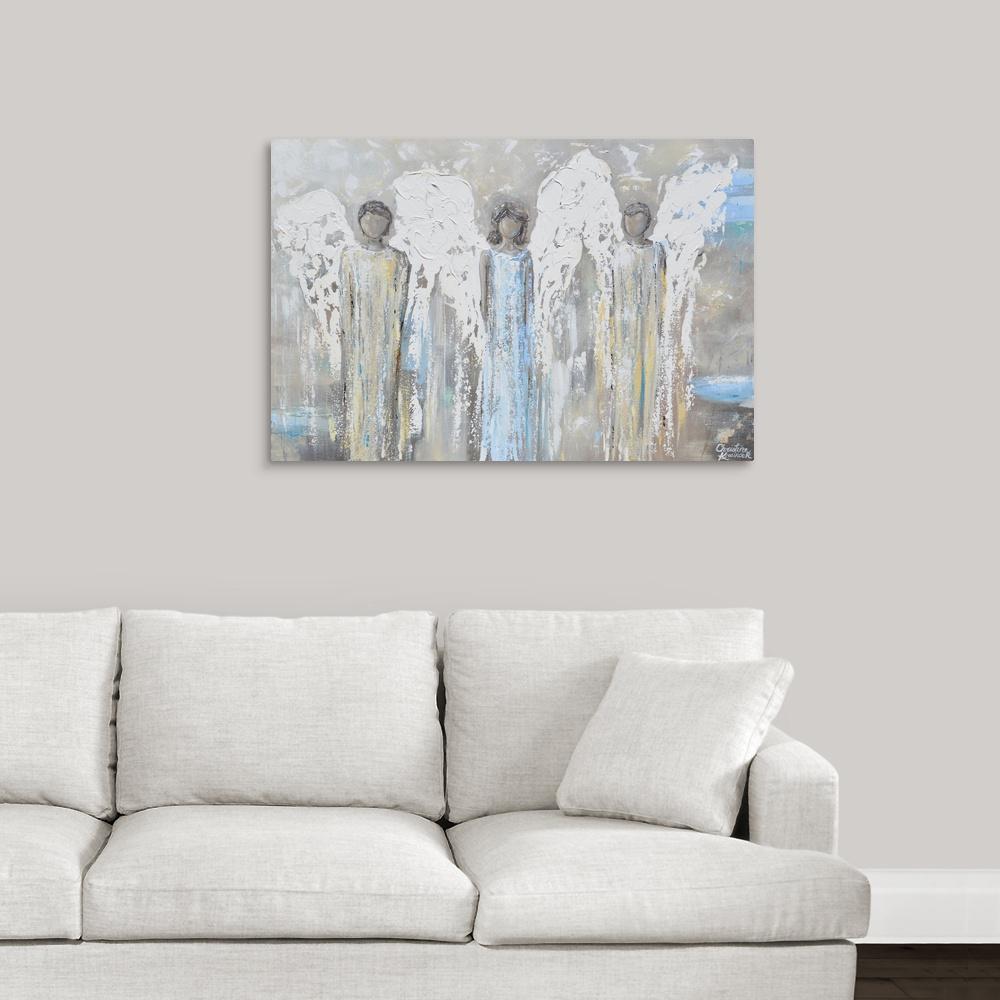 """Angel's of Grace II"" byGreat BIG Canvas Canvas Wall Art"