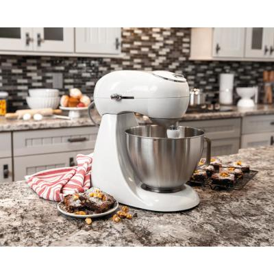 Hamilton Beach-Eclectrics 4.5 Qt. 12-Speed Sterling All-Metal Stand Mixer