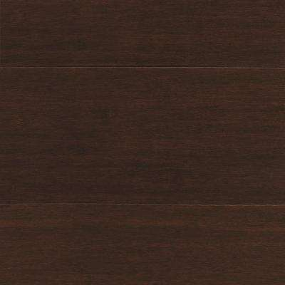Strand Woven Java 3/8 in. T x 5-1/8 in. W x 72 in. L Engineered Click Bamboo Flooring