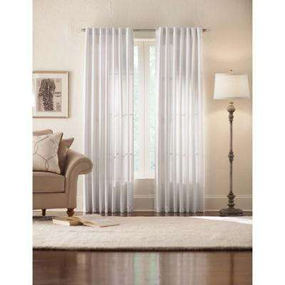 Monaco Thermal Foam Backed Lined Back Tab Curtain