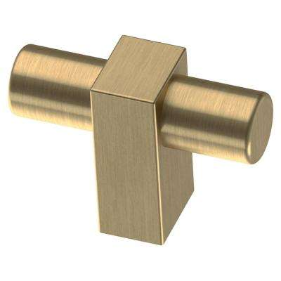 Artesia 1-3/4 in. Champagne Bronze Bar Cabinet Knob (25-Pack)