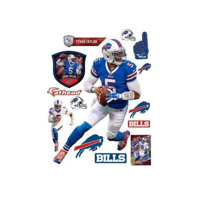 71 in. H x 52 in. W Tyrod Taylor Wall Mural